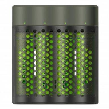 GP Batteries ReCyko Speed M451 Batteriladdare med AAA-batterier