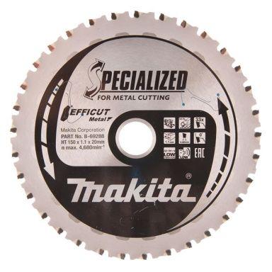Makita B-69288 Pyörösahanterä 150 mm, metallille