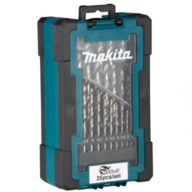 Makita D-67555 Metallboresett 25 deler