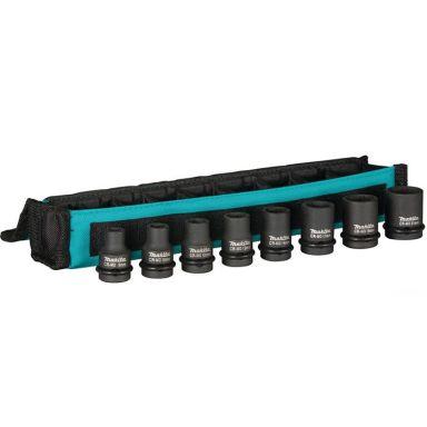 Makita E-02989 Krafthylsset 8-21 mm, 8 delar