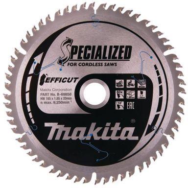 Makita B-69858 Sahanterä 165 mm, 60 hammasta