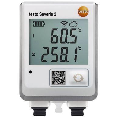 Testo Saveris 2-T3 Datalogger for 2 externa sensorer, uten kalibrering