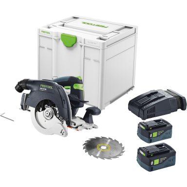 Festool HKC 55 5,2 EBI-Plus-SCA Cirkelsåg med batterier och laddare
