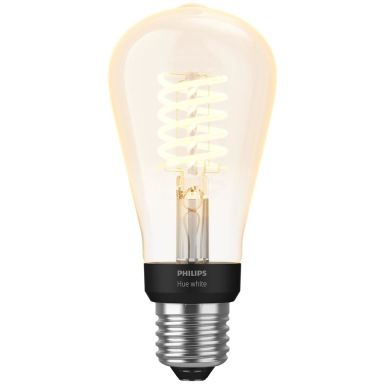 Philips Hue White LED-valo 7 W, E27, Edison-muoto