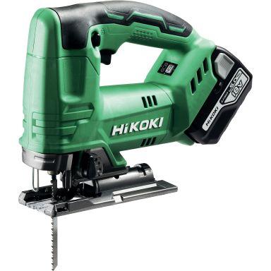 HiKOKI CJ18DA Sticksåg med 5.0 Ah batterier och laddare