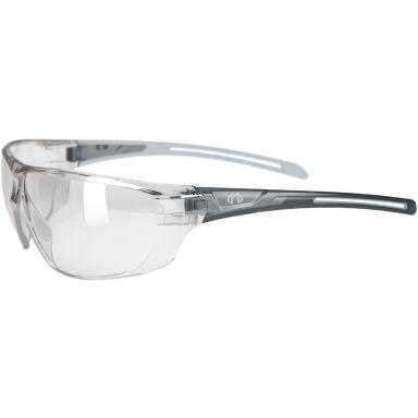 Hellberg Helium Skyddsglasögon reflekterande lins, silver