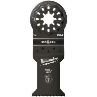 Milwaukee SL BIM WM35X42 Upposahanterä 35 x 42 mm, Starlock