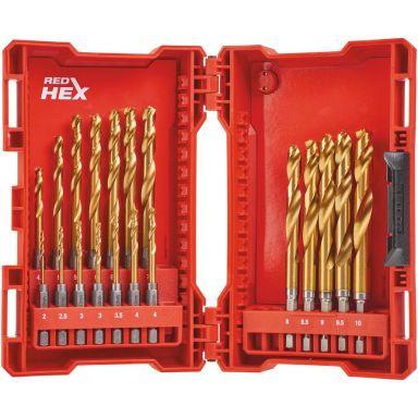 Milwaukee HSSG 48894760 Metallboresett 19 deler