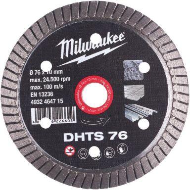Milwaukee DHTS 76 Diamantskapskive Ø 76 mm
