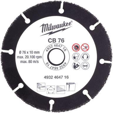 Milwaukee CB 76 Katkaisulaikka Ø 76 mm