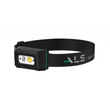ALS HDL201R Hodelykt 200Lm oppladingsbar med bevegelsessensor
