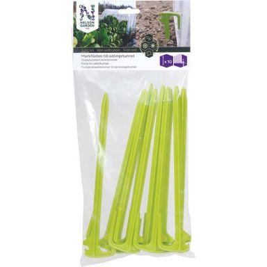 Nelson Garden 5712 Maakiinnike 10 kpl:n pakkaus, viljelytunneliin