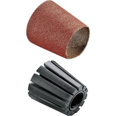 Bosch DIY Skaft- og slipehylse (konisk) SET 80 Sliphylsa med skaft, K80