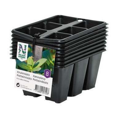 Nelson Garden 5720 Krukinsats med 6 celler, 8-pack