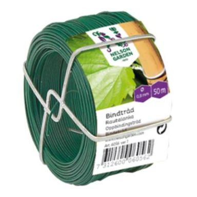 Nelson Garden 6056 Bindetråd stål/plast, Ø 0,8 mm x 50 m