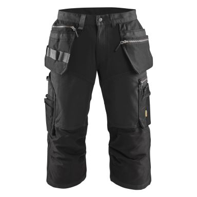 Blåkläder 159713439900C64 Piratbyxa med stretch, svart