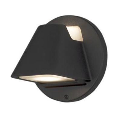 Konstsmide Hild Vegglampe 2 x GU10, svart