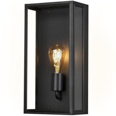 Konstsmide Carpi Vegglampe E27, 60W, svart