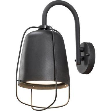Konstsmide Perugia Vegglampe E27, 60W, svart