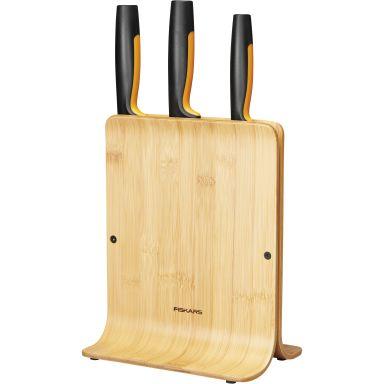 Fiskars Functional Form Knivblokk i bambus