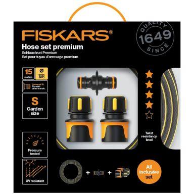 Fiskars Premium Hose Set Slangset Ø9 mm, 15 m