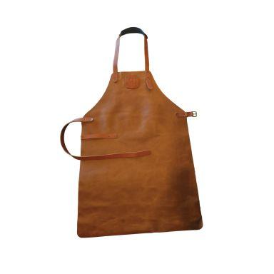 OFYR Leather Apron Brown Förkläde läder