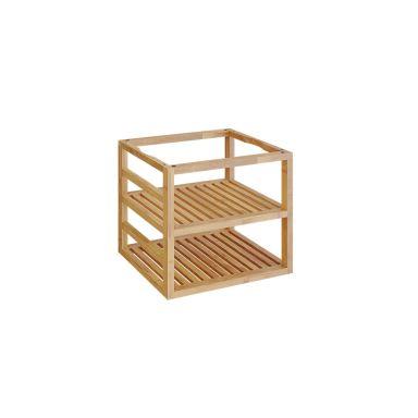 OFYR Storage Insert PRO Teak Wood Medium Träinsats teakträ