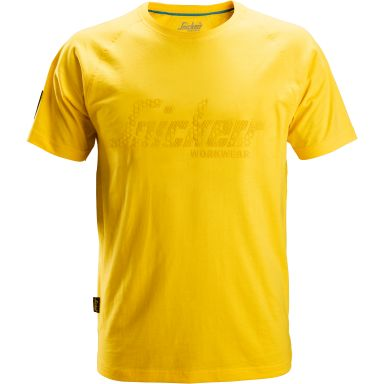 Snickers 2580 T-shirt gul