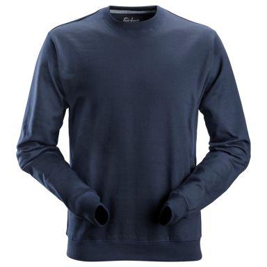 Snickers 2810 Sweatshirt marineblå