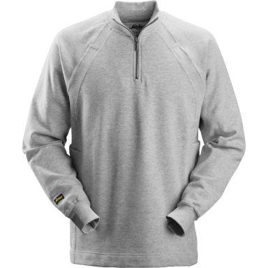 Snickers 2813 Sweatshirt grå, med MultiPockets