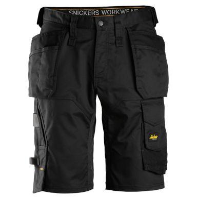 Snickers 6151 AllroundWork Shorts svart