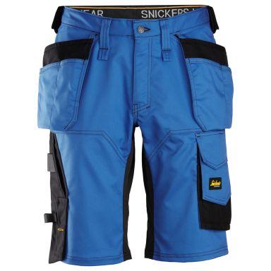 Snickers 6151 AllroundWork Shorts klarblå/svart