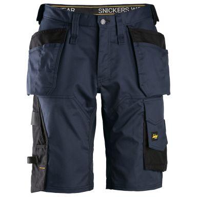 Snickers 6151 AllroundWork Shorts marin/svart