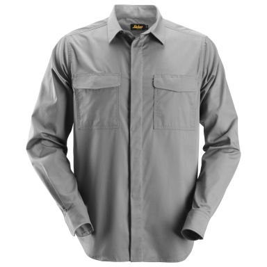 Snickers 8510 Arbetsskjorta grå