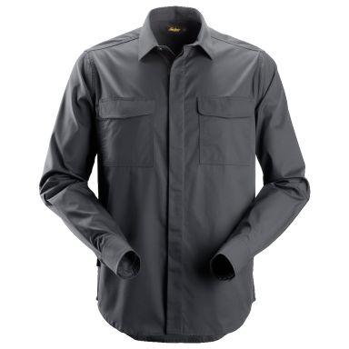 Snickers 8510 Arbetsskjorta stålgrå