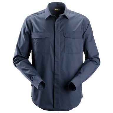 Snickers 8510 Arbetsskjorta marinblå