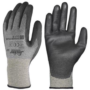 Snickers 9387 Power Flex Handske stengrå/svart