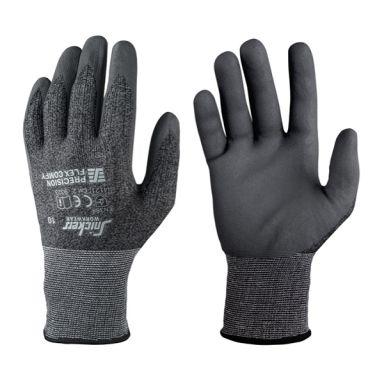 Snickers 9391 Precision Flex Comfy Handske svart/stålgrå