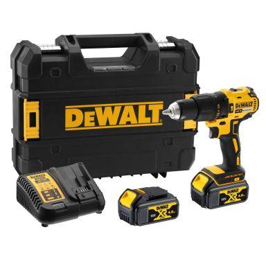 Dewalt DCD778M2T-QW Slagborr med 2 st 4,0 Ah batterier och laddare