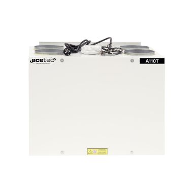 Acetec EvoAir A110T Ventilasjonsaggregat hvit