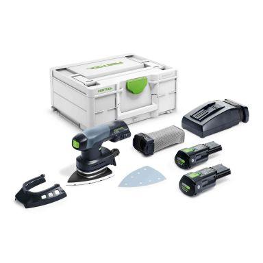 Festool DTSC 400 3,1 I-Plus Kärkihiomakone laukussa, mukana akku ja laturi