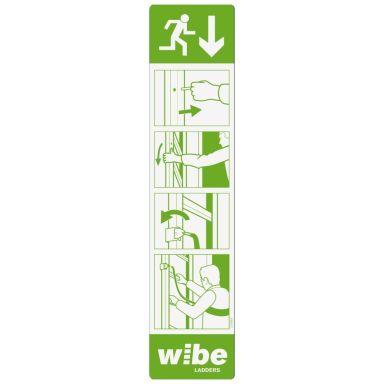Wibe WURS IS-SE Instruktionsskylt