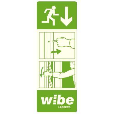 Wibe WURS IS-ST Instruktionsskylt