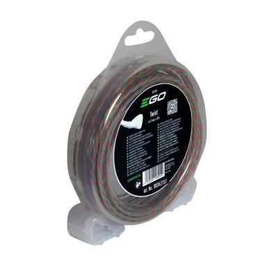 EGO AL2416P Trimmertråd Ø2,4 mm, 4x4 m, tvinnad