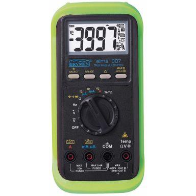 Elma 807 TRMS Multimeter med batteri 2x1,5V LR03