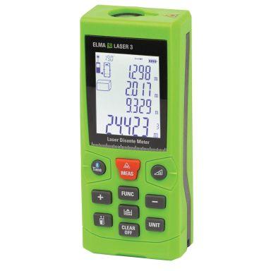 Elma Laser 3 Avståndsmätare med vinkelmätare, Bluetooth