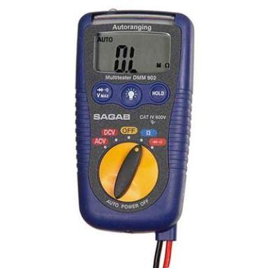 Elma DMM-903 Multimeter digital, fickformat