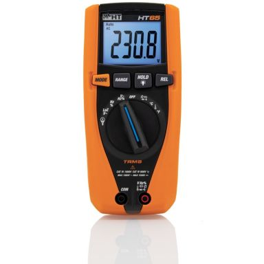 Elma HT65 1500VDC/1000VAC Multimeter inkl. batteri