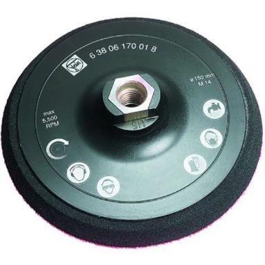 Fein 63806030004 Støttetallerken M14, for lammefell, Ø 170 mm