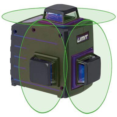 Limit 1080-G Multikorslaser inkl. batterier